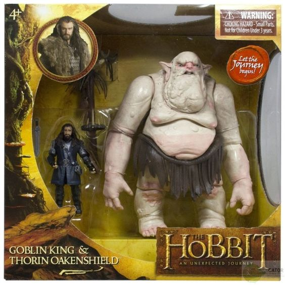 Znalezione obrazy dla zapytania goblin king & thorin oakenshield