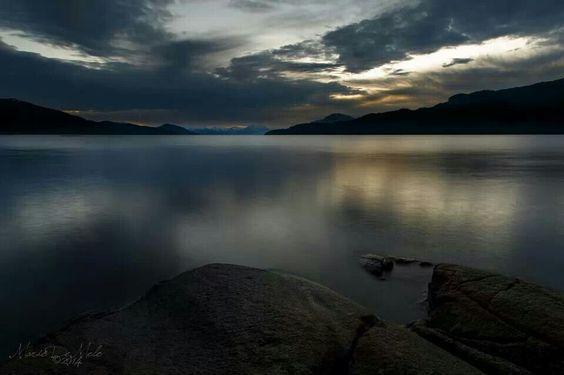The Douglas Channel, British Columbia, Canada