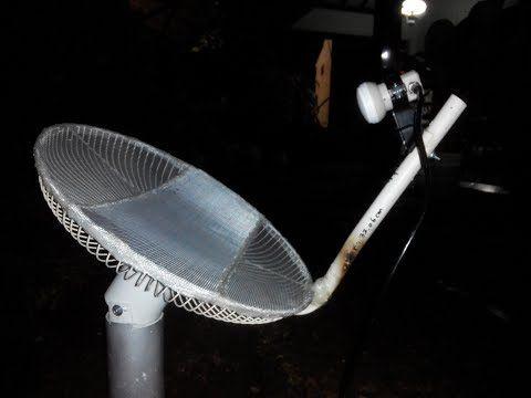 Tutorial Lengkap Cara Bikin Antena Kipas Tv Satelit Mini Dari Bahan Tutup Kipas Bekas Diameter 46 Cm Kedalaman 4 Cm Tiang Fokus Kipas Ide Buatan Sendiri