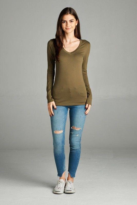 Bella+Canvas Women/'s Missy Fit Favorite Tee Jersey Tshirt T-Shirt 6004-50 COLORS