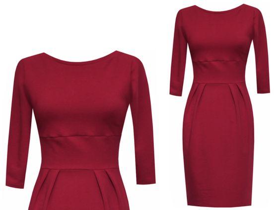 Entdecke lässige und festliche Kleider: Kleid winter Suzanna - viele Farben made by ungiko via DaWanda.com
