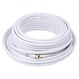 50 ft. Quality CL2 Coaxial Cable - RG6 18AWG 75Ohm Quad Shield, F Type - White. s                                                      50 ft. QualityCL2 Coaxial Cable - RG6 (18AWG) 75Ohm, Quad Shield, with F Type Connector - Various Lenght - White                     TiGuyCo Plus - www.tiguycoplus.ca- www.tiguycoplus.com - Rigaud, Qc J0P 1P0        Item:Cables                  Description: *** NOTE - This is aNEW item!                  50ft. - Suggested Retail Price:$34.99…