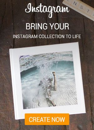 Bring Your Instagram Collection to life! With Huggler's Instagram Photo Book
