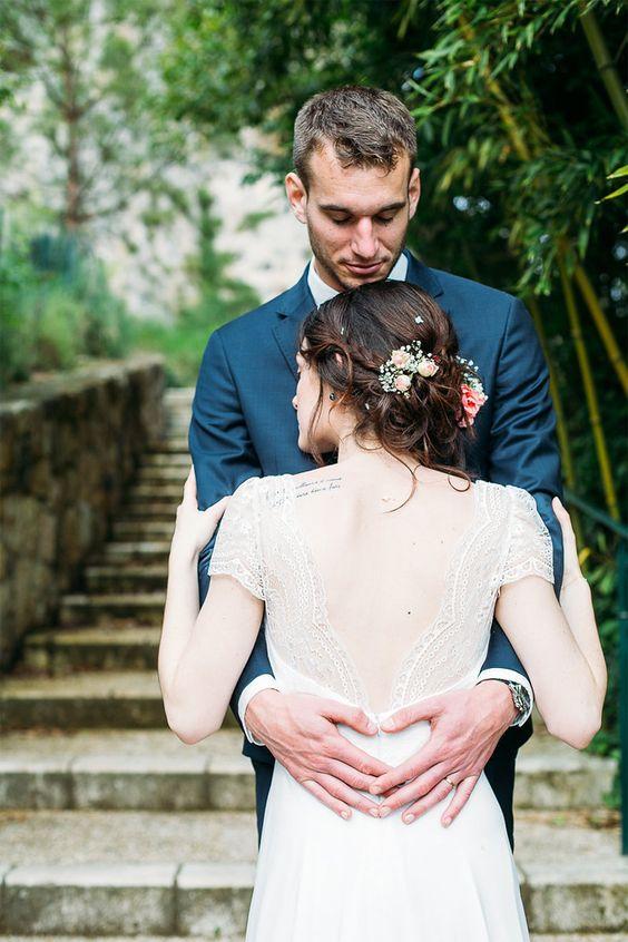 Le mariage champêtre d'Aurore et Vivien - Région Aquitaine | Photographe: Studiohuit | Donne-moi ta main - Blog mariage