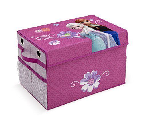 Delta Children Frozen Fabric Toy Box with Pockets (Purple) Delta Children http://www.amazon.co.uk/dp/B00Q659S38/ref=cm_sw_r_pi_dp_90o0vb0GMX577