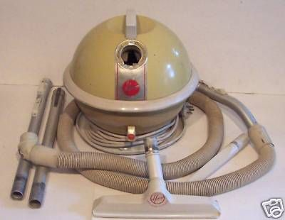 Retro 50s 60s Hoover Constellation Vacuum Cleaner Gwo