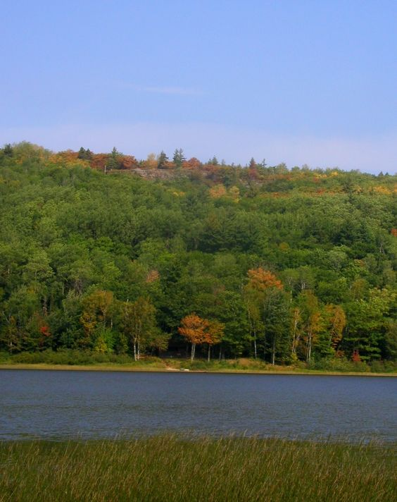 Just one of many wonderful views in the Porcupine Mountains Wilderness State Park in the fall