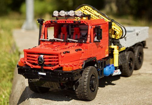 Mercedes Derniers Modèles >> Moc Mercedes Zetros 2733 6x6 Full Rc By Jrx Lego Jeu