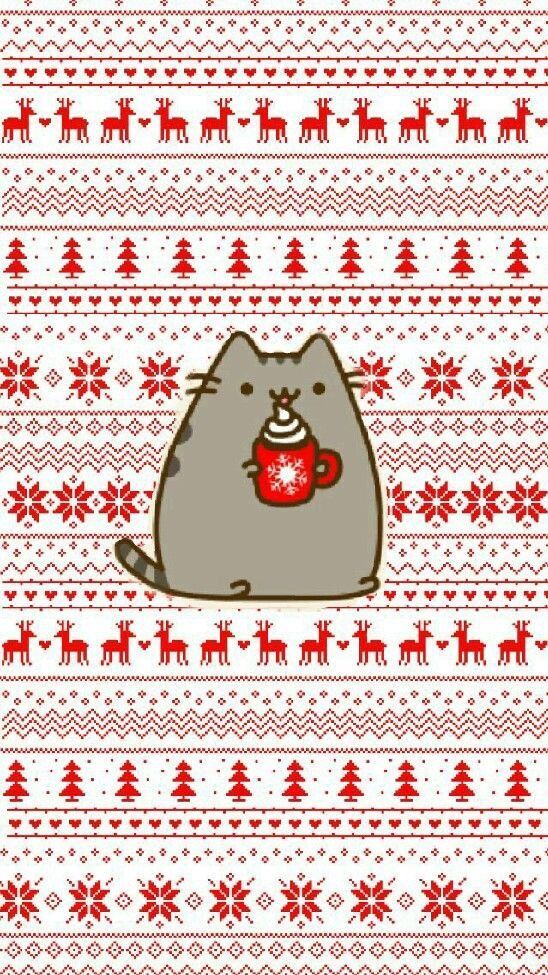 Christmas Cat Background : christmas, background, Winter, IPhone, Wallpaper, Ideas, Backgrounds, [Free, Download], Phone, Wallpaper,, Iphone, Christmas,