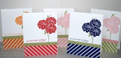 Jill's Card Creations: In color club cards