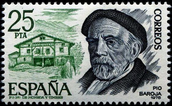 España 1978 - Pío Baroja y Nessi fue un escritor español de la llamada Generación del 98