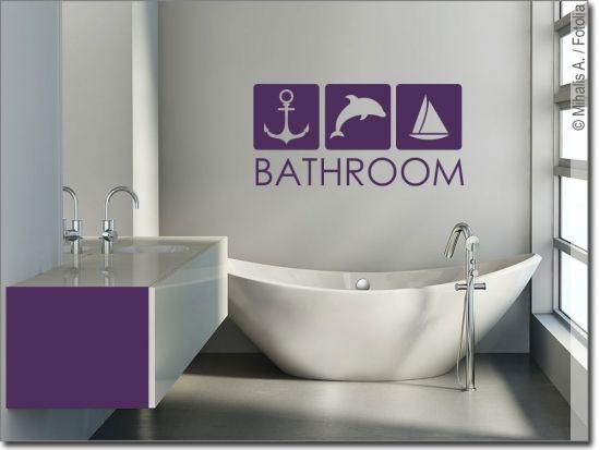 Wandtattoo Bathroom Wandtattoo Badezimmer Design