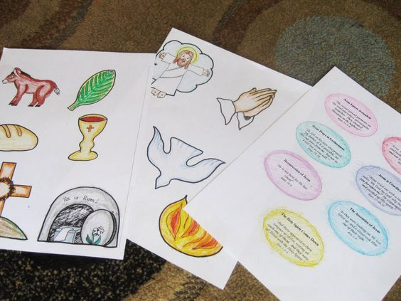 Easter Kids Church Crafts