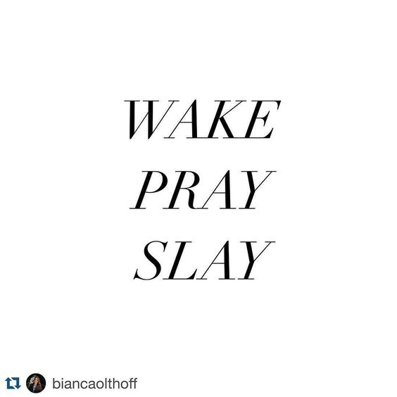 I love this!! #BuiltStuff #woodwork #BuiltByStevie # repost @biancaolthoff My daily goals: Wake pray slay de builtbystevie