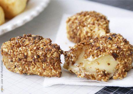 Hazelnut Fried Brie