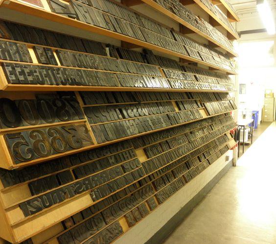 storing large wood type