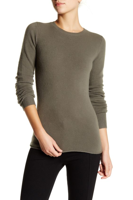 Cashmere Blend Pullover Sweater