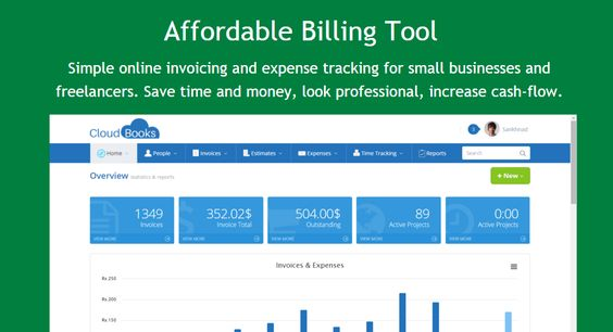 All your clients' billing work can now be done easily and smoothly with the Cloudbooks #BillingTool . www.cloudbooksapp.com