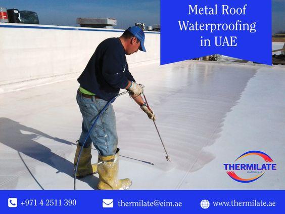 Metal Roof Waterproofing In Uae Roof Waterproofing Metal Roof Acoustic Insulation