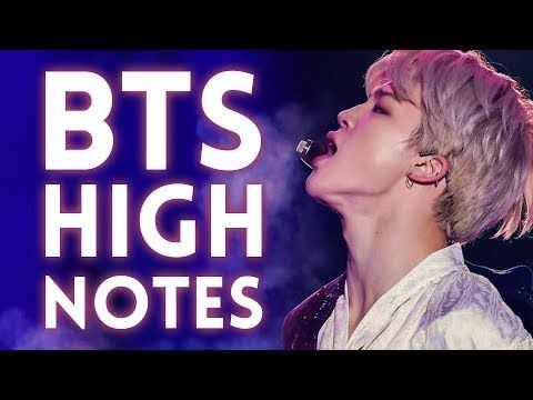 Most Incredible Bts High Notes Falsettos Live Youtube The Incredibles Bts Singer