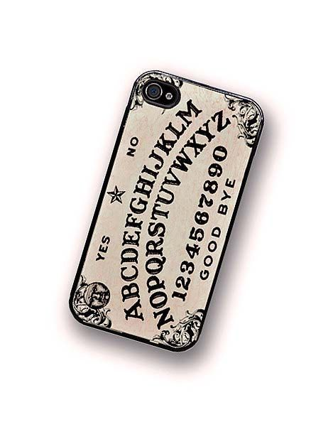 iPhone Case Spirit Board Oujia Board iPhone by TheCuriousCaseLLC
