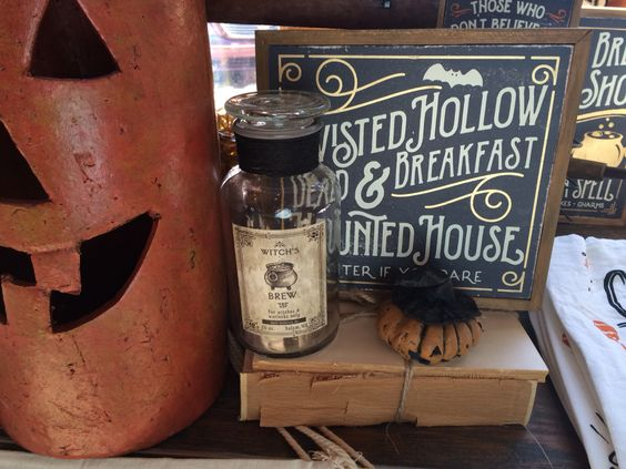 Spooky finds at The Faded Farmhouse