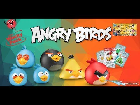 Sonic Wacky Pack July 2018 Angry Birds Summer Water Squirters Kids Meal Toys Tickets To Toy Time Yout Face Painting Halloween Kids Meals Homemade Face Paints