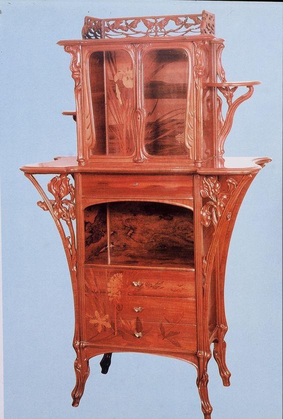 art nouveau furniture art nouveau art deco pinterest m bel kunst und jugendstil. Black Bedroom Furniture Sets. Home Design Ideas