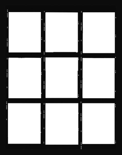 Kodak Film Template Gambar Polaroid Tata Letak Foto Fotografi Pemula