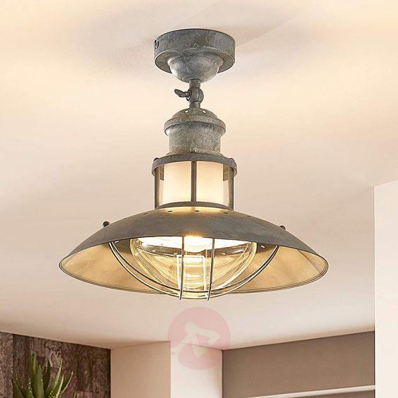 Lampa sufitowa Louisanne, styl industrialny | Lampy, Lampa