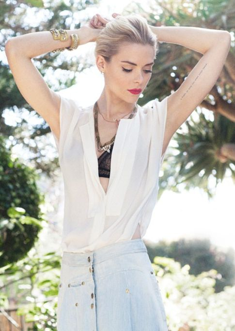 Jaime King from her 2012 feature on StyleCaster.com
