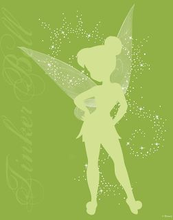 Free Tinkerbell Art from Disney!