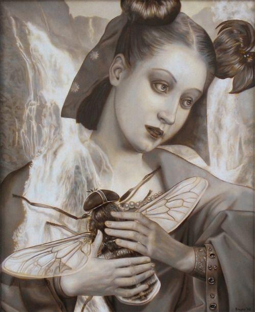 """Madonna and Horsefly"", John Brophy"