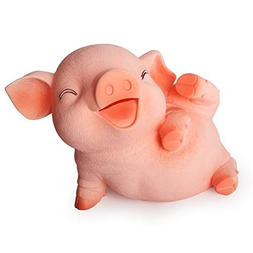 S Suniness Large Piggy Bank Unbreakable Kids Money Bank Can Hold 1000 Coins Cash Pig 1 S Suniness In 2020 Kids Money Large Piggy Bank Piggy Bank