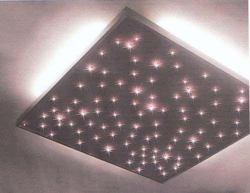 Led verlichting plafond sterrenhemel kamer google zoeken for Kamerlamp plafond