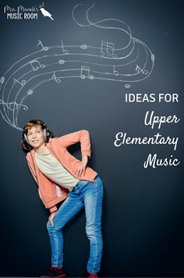 Ideas for the upper elementary music classroom: Includes links to great blog posts with videos, songs, games, and more!