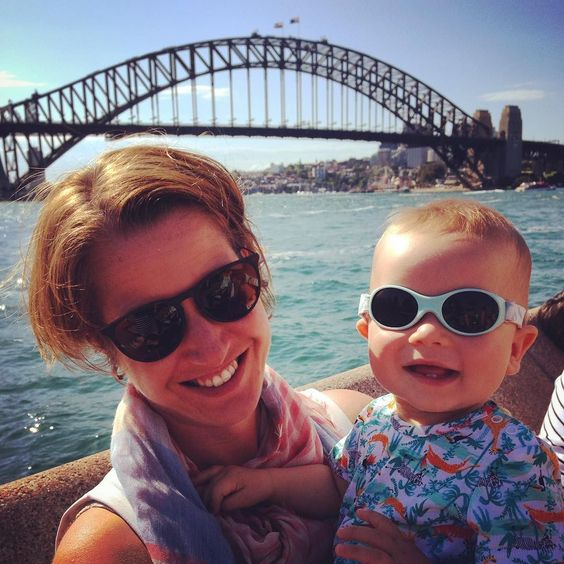 Sinking beers & soaking up rays in our #sunnies at #operabar feat. #sydneyharbourbridge  by melgruj http://ift.tt/1NRMbNv
