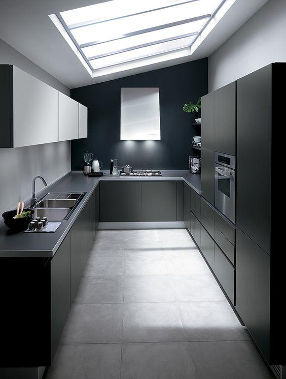 Cucine One - Cucine Moderne di Design - Ernestomeda   cocinas ...