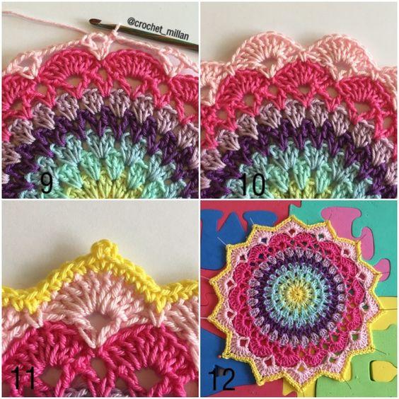 Free Crochet Magnolia Flower Pattern : Lovely pattern by Crochet Millan crochet Pinterest ...