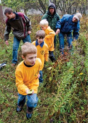 geocaching for scouts
