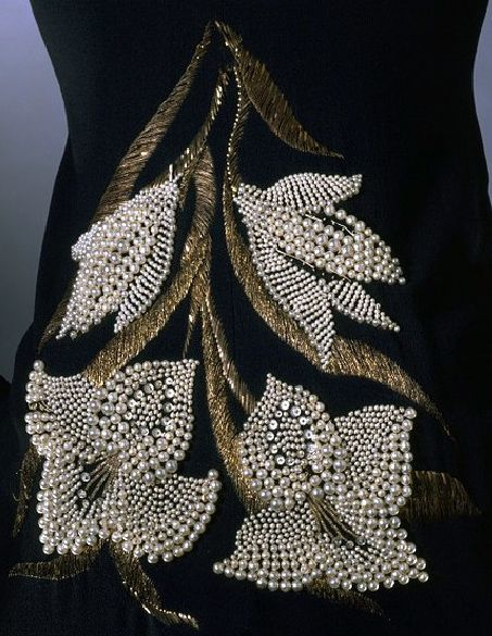 Pearls haute couture and on pinterest