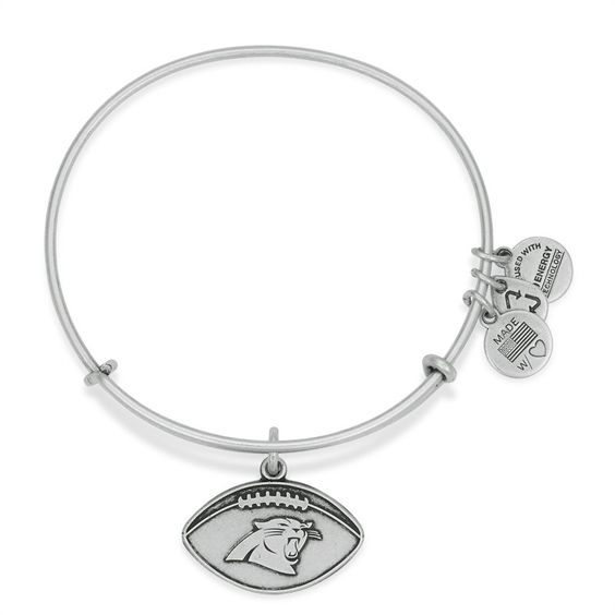 Women's San Diego Chargers Alex and Ani Gold Logo Bracelet