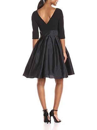 Adrianna Papell Kleid (schwarz)