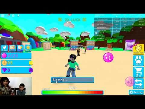 Wali Plays Luck Event Bubble Gum Simulator Roblox Youtube