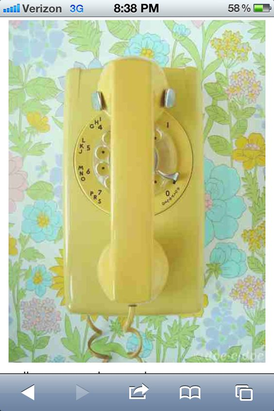 We had this exact phone on the wall in the kitchen when I was a teenager!!!
