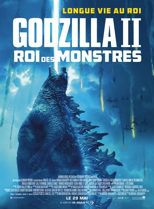 Godzilla 2 Streaming Vostfr : godzilla, streaming, vostfr, Télécharger, Godzilla, Monstres, TRUEFRENCH, DVDRip, Streaming, Godzilla,, Warner, Bros., Pictures,, Charles, Dance