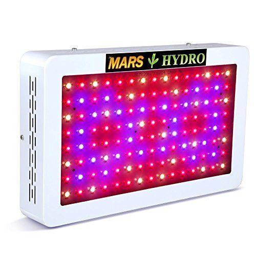 MARSHYDRO 300W 600W LED Grow Light Full Spectrum Plant Lights Grow Lamp for I...