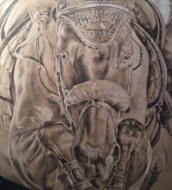 Horse Power | Illustrations by Shannagh-leigh  https://www.facebook.com/Illustrations-by-Shannagh-Leigh-1647902955432881/