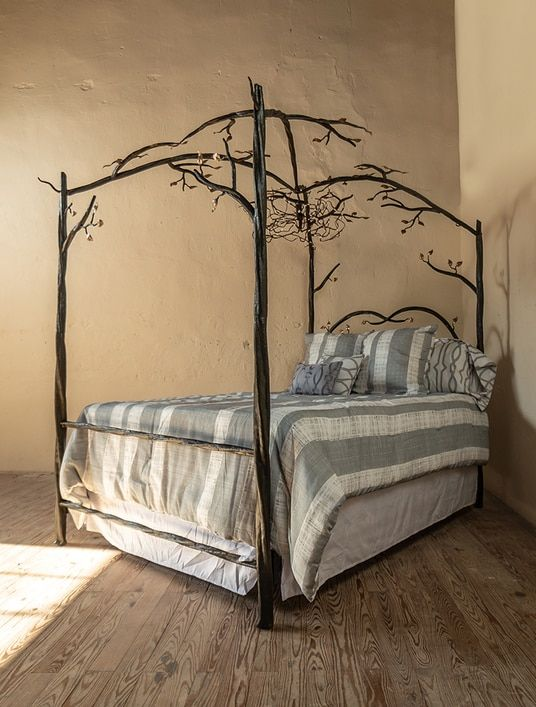 Elm Springs Wrought Iron Canopy Bed Iron Canopy Bed White Bed