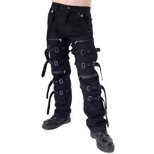 Straight Jacket Buckle Bondage Trousers | Tim Burton Halloween ...